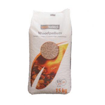 Houtpellets in zak | 15 kg